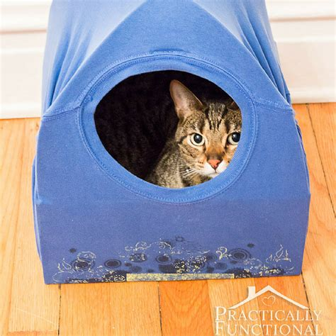 cat tent bed 16 diy dog bed projects diy cat houses that are the cat