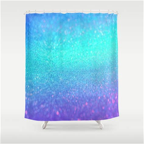 Blue Glitter Curtains Blue Glitter Curtains Blue Glitter Shower Curtain By Cuteprints Blue Glitter Shower Curtain