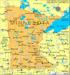 us map minnesota minnesota map and minnesota satellite images