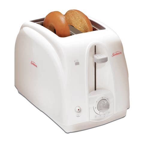 sunbeam kitchen appliances sunbeam 174 2 slice toaster white