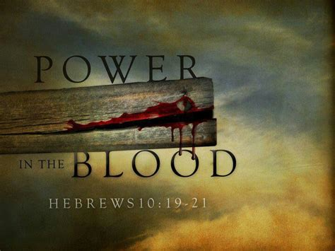 nothing but the blood of jesus inspirational sayings