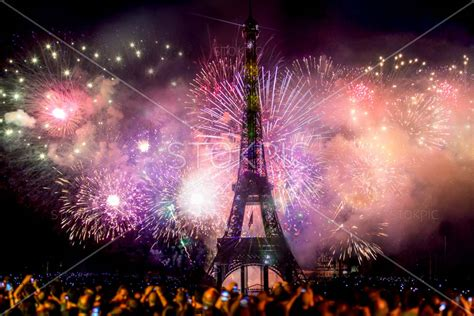 what is new year celebrated for new year celebration fireworks eiffel tower stokpic