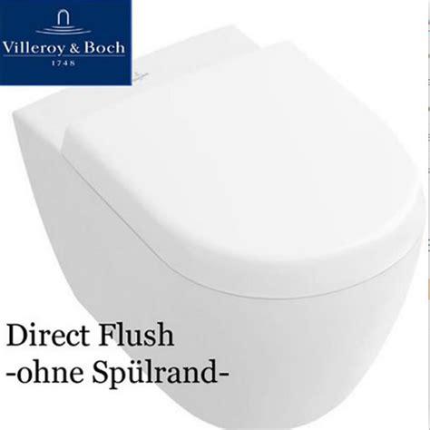 Villeroy Boch 9m68s101 Wc Sitz Subway 2 0 by Subway 2 0 Wc Directflush Sp 252 Lrandlos Ceramicplus