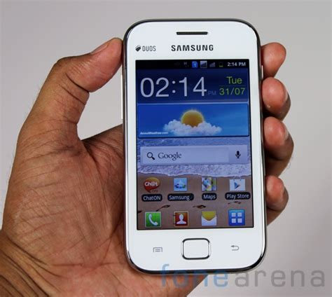 Samsung Galaxy Ace Duos android d 252 nyas箟 samsung galaxy ace duos gt s6802 箘nceleme
