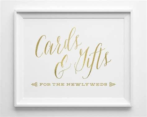 Cards And Gifts Wedding Sign Template by Best 25 Gift Table Signs Ideas On