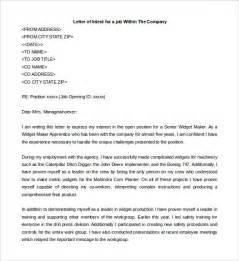 cover letter to apply for a letter of intent for a 10 free word pdf documents