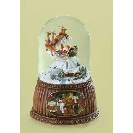 rotating train snow globe best 28 santa snow globe with rotating santa snow globe with rotating a world within