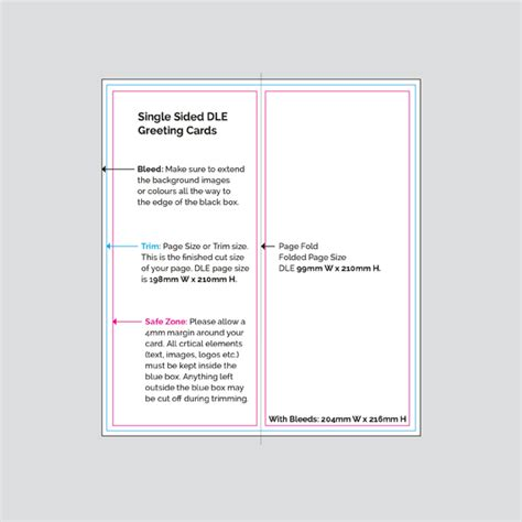 J Card Single Sided Template by Print Digital Printers Single Sided Dle