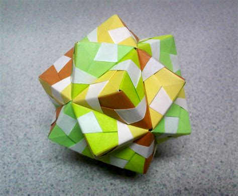 Origami Small - origami small triambic icosahedron top by