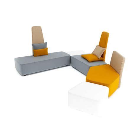 Grey Yellow Armchair Gray And Yellow Chairs 3d Model Cgtrader