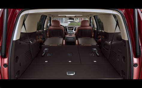 Chevy Suburban Interior Dimensions by 2015 Chevrolet Tahoe And Suburban Chevrolet Tahoe