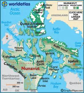 where is iqaluit on a map of canada print this map