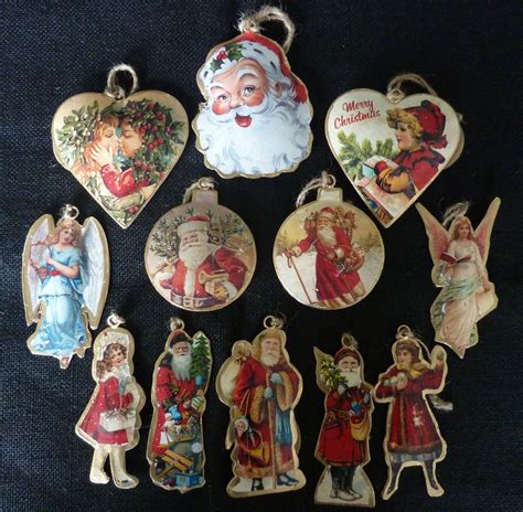vintage style metal victorian christmas tree decorations
