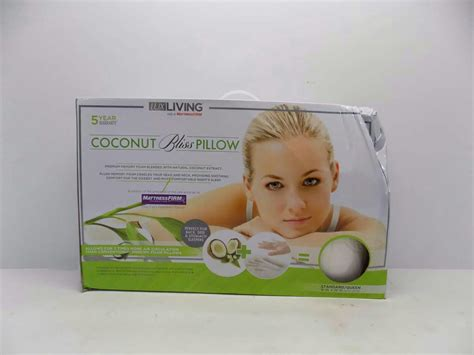 Coconut Bliss Pillow by Living Coconut Scented Standard Bed Pillow Ebay