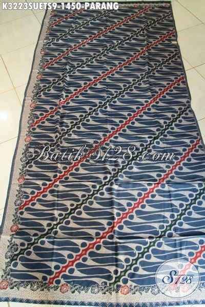 Kain Batik Parang Abu Abu 1 batik kain mewah motif parang klasik warna biru