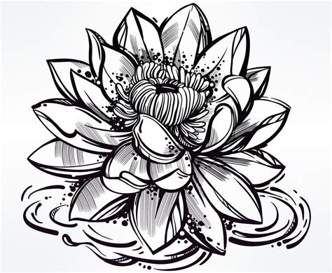 rose and lotus tattoos japanese flower tattoos