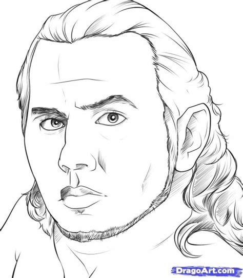 jeff hardy coloring page get this free jeff hardy coloring sheets tsbw7