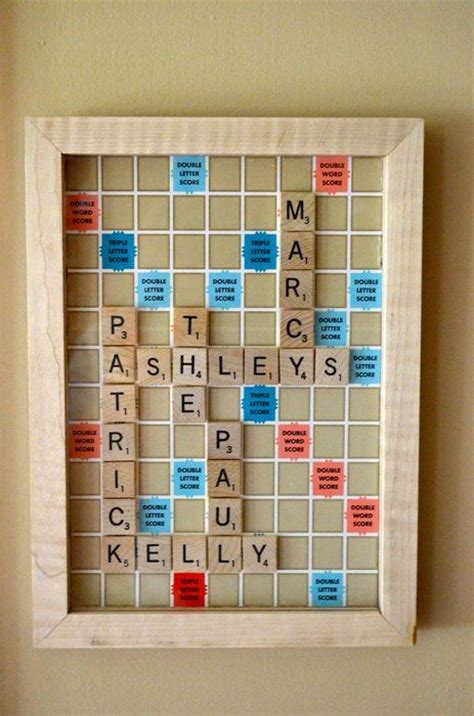 used scrabble use the board scrabble to make a crossword with the