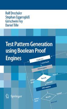 Test Pattern Generation Using Boolean Satisfiability | agra informatik bremen informatik universit 228 t bremen