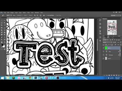 cara membuat doodle name tutorial cara membuat doodle di photoshop