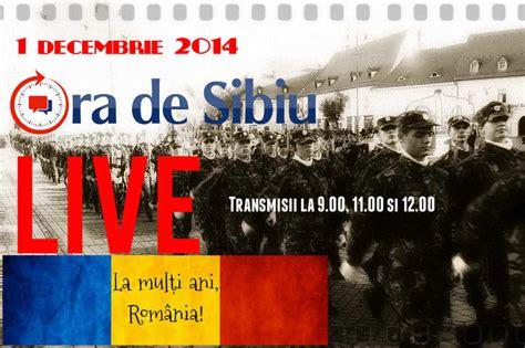 ora de sibiu live sedință solemnă de 1 decembrie 9 00