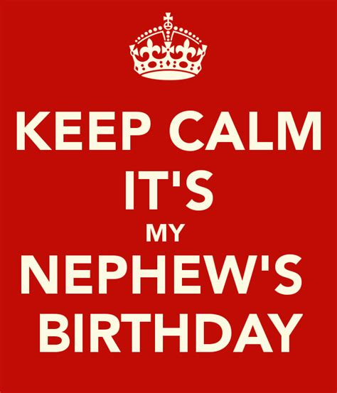imagenes keep a calm it s my birthday month keep calm it s my nephew s birthday poster charita