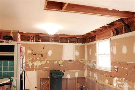 How To Remove Soffit Above Kitchen Cabinets How To Remove A Soffit Kitchen Renovation Update Pretty Handy