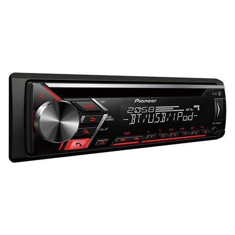 car stereo with usb pioneer deh s4000bt bluetooth car stereo with usb aux