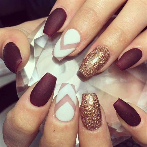 maroon nail designs best 25 maroon nail designs ideas on