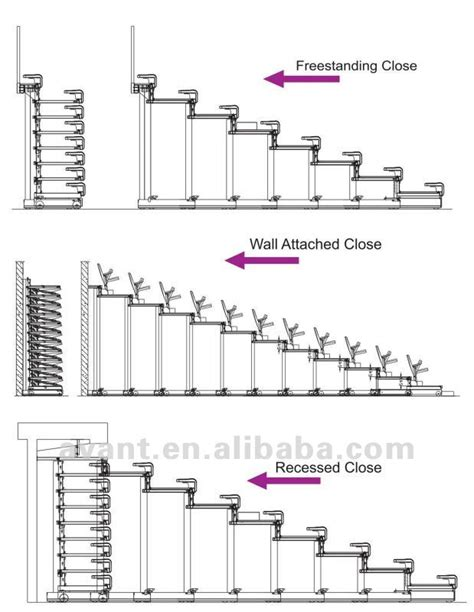 telescopic seating systemretractable platform system