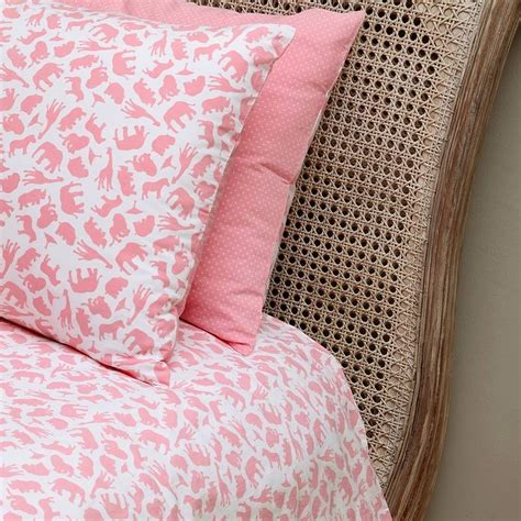 Single Quilt Cover by Safari Pink Single And Cot Duvet Cover Set By Em Lu