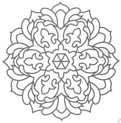 coloring pages designs mandala mandala embroidery patterns mandalas pattern coloring