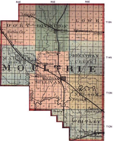 Moultrie County Search Moultrie County Illinois Maps And Gazetteers