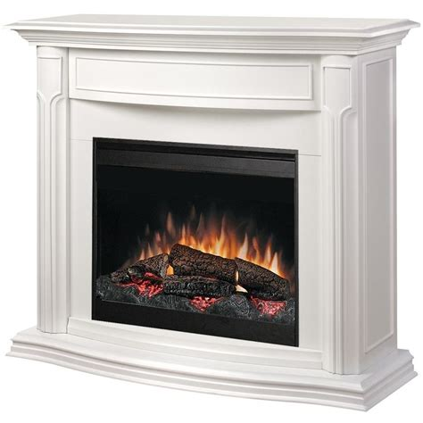 Dimplex Addison 49 Inch Electric Fireplace   White