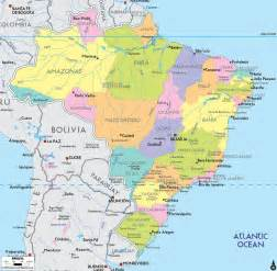 map of south america brazil map of brazil south america what where central
