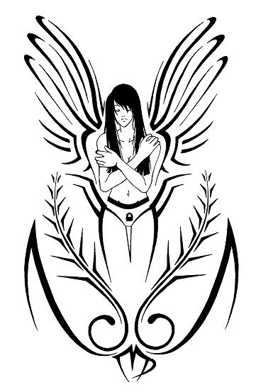 best virgo tattoo designs tribal virgo by shadowkira on deviantart