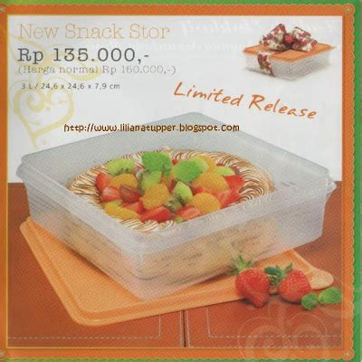 Free Snack Cup Large Carry All Set liliana s tupperware katalog promo desember 2008