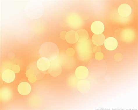 Soft Yellow Background Psdgraphics White Lights Background