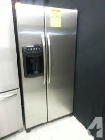 Apartment Size Appliances For Sale Stainless Steel Apartment Size Refrigerator Side X Side