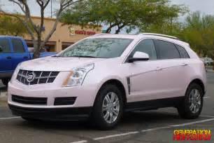 Cadillac Srx Pink Presently Unpleasantly Pink Pyramid Scheme Mobile