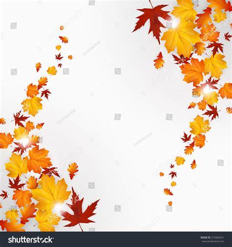 background design leaves autumn leaves background design vector stock vector