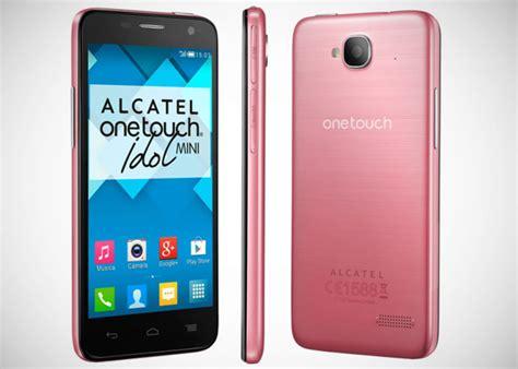 imagenes para celular one touch alcatel alcatel one touch lanza al mercado dos nuevos modelos el
