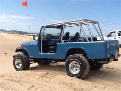 jeep scrambler custom purchase used 1982 custom fiberglass jeep cj8 scrambler in