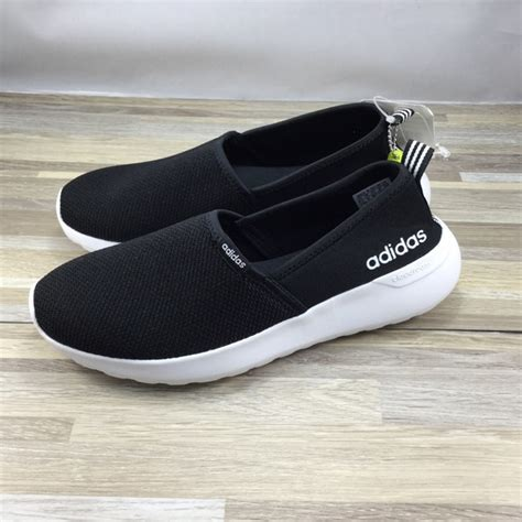 adidas shoes neo cloudfoam lite racer slip  poshmark