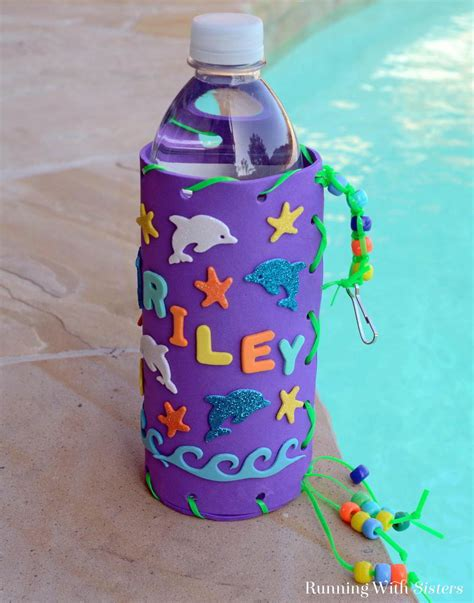 water bottle crafts for kid craft make your own water bottle holder running