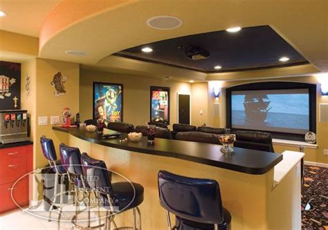 basement home theater awesome spaces pinterest