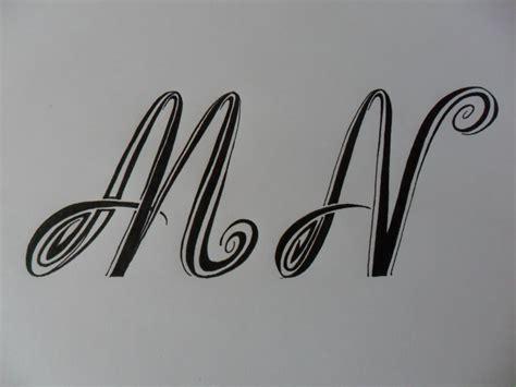 E M O R Y Original letras tribales m y n bases elementales para dibujar