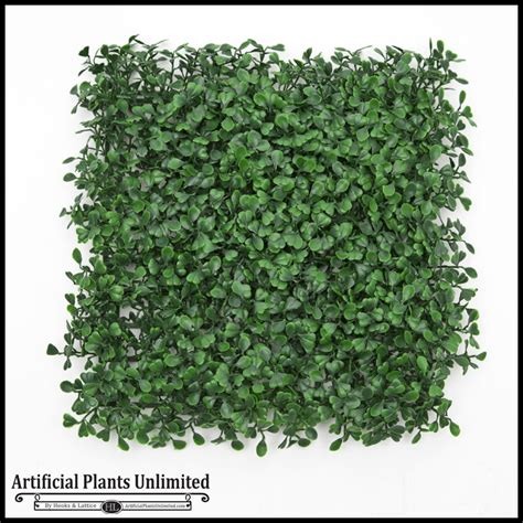 Faux Boxwood Mat by Outdoor Artificial Boxwood Mats Create Faux Green Walls