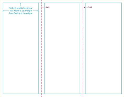 trustx corporate tri fold brochure template 3 25 really
