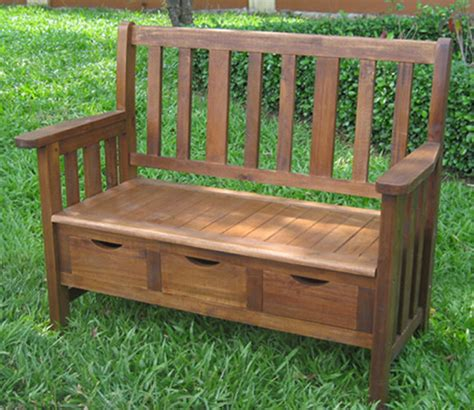 traditional garden bench 3 drawer large acacia bench with arms traditional